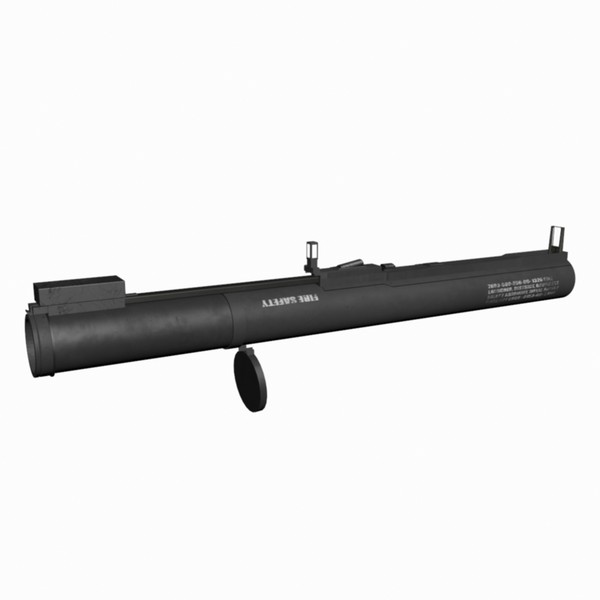obj military grade m72 law - M72 LAW Anti-Armor Anti-Tank Military Grade Rocket Launche... by Mister A
