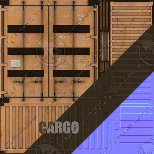 3d max industrial container - Container... by Braindrain85