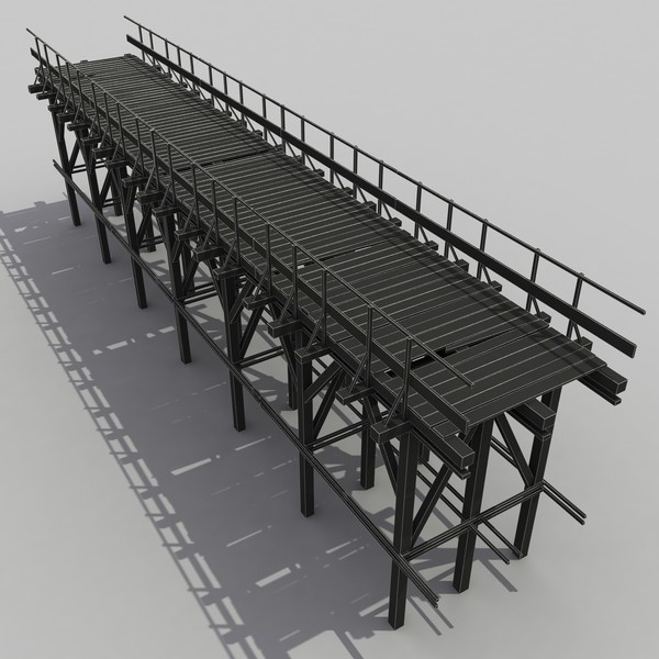 wood wooden bridge 3d max - Old Wooden Bridge 2... by 3D Graphics