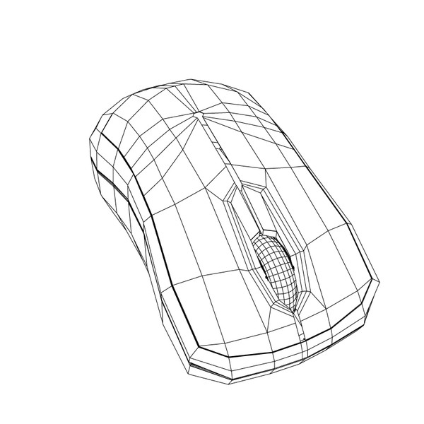 new microsoft mouse 3d model - Mouse Microsoft... by caracollo