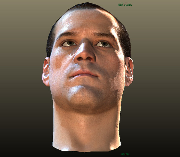 max head characters - Man Head for 3D Character KAG005... by 3D4Buy