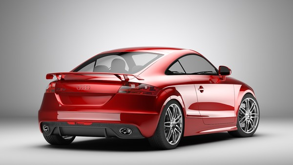 accurate audi tt rs obj - Audi TT rs... by Branoa