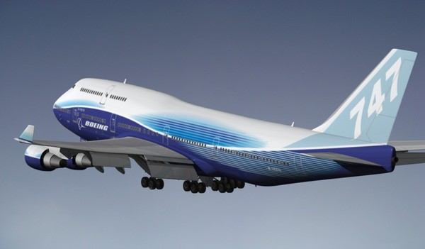 obj boeing 747-400 - BOEING 747-400 color house... by EGPJET3D