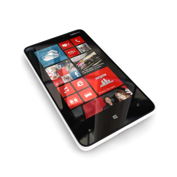 new nokia lumia 920 3d model - Nokia Lumia 920 and 820 Collection... by Leeift