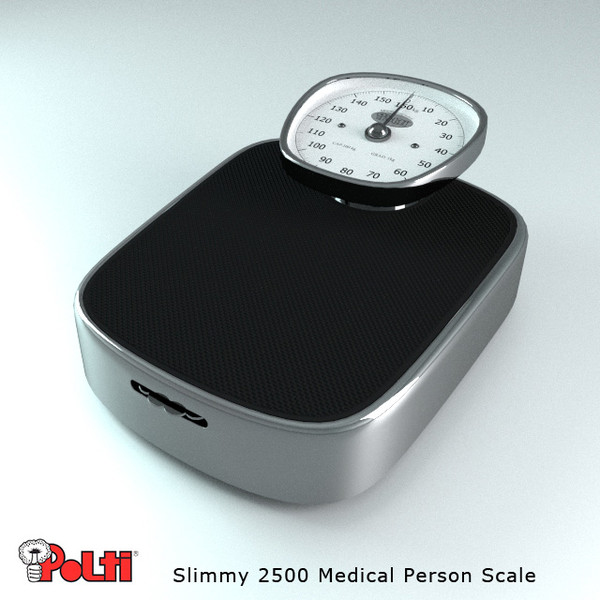 3ds realistic person scale - Person Weight Scale... by robstranges