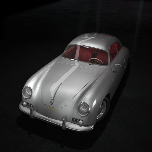porsche coupe max - Porsche 356 A 1600 Coupe... by SamJigga