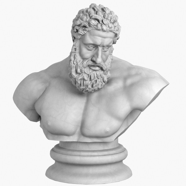 3d model classical bust set - Classical Bust Set... by clay master