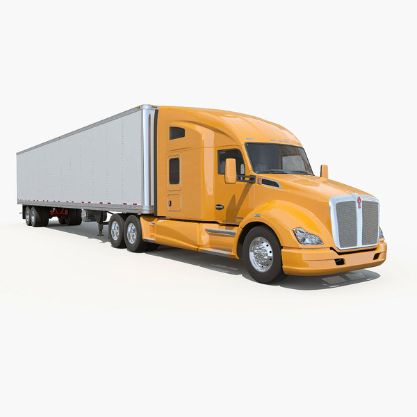 3d t680 semi truck model - Kenworth T680... by Alexart247