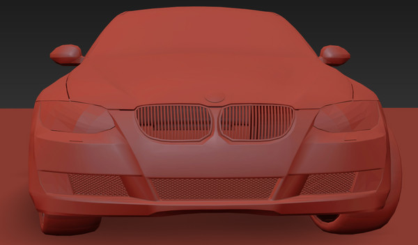 bmw e92 car 3d max - BMW E92 Car... by cvbtruong