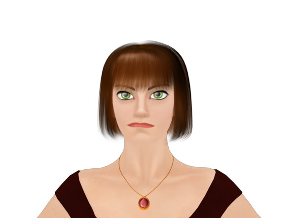 female mia facial morphs 3d model - Mia Female Model with facial morphs mb ma... by fishzombie