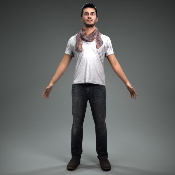 3d axyz character human - CMan0018-M4-CS... by axyzdesign