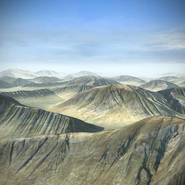 hill 3D models