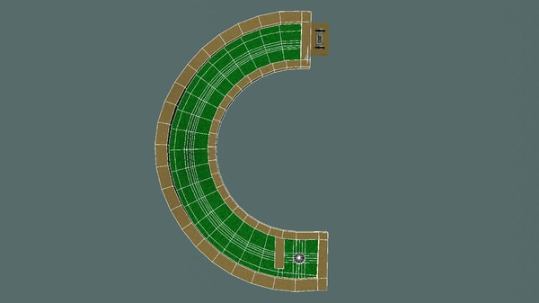 mini golf hole c ma - Mini Golf Alphabet C Hole... by razorsharpgames