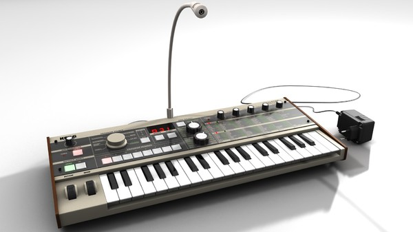 synthesizer korg microkorg 3d model - MicroKorg... by Teutch