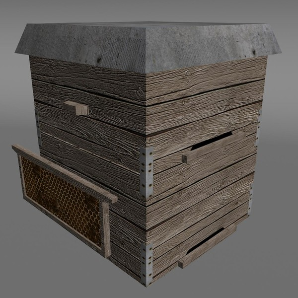 maya hive town buildings - Hive... by 3Dmanak