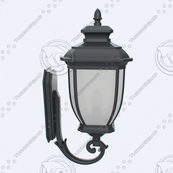 outdoor lantern 3d max - Outdoor Lantern 4... by PlastyForma