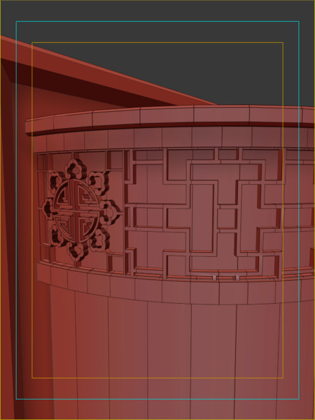 chinese style wall lamp 3d model - Chinese Style Wall lamp of Traditional Chinese painting... by Shen Hanlu