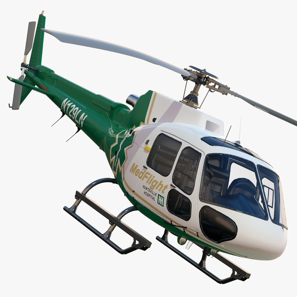 3d eurocopter as350 medflight - Eurocopter AS350 MedFlight... by dimosbarbos