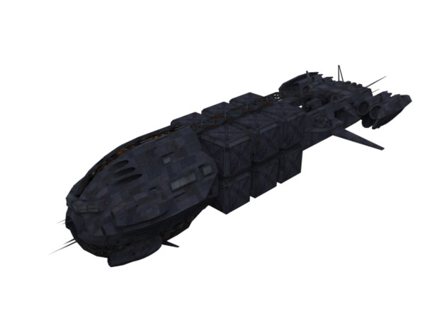 3d model ship - Eris ship... by SolCommand