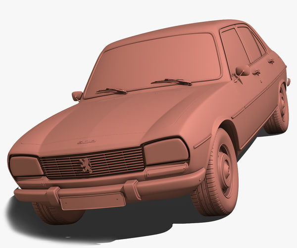 3ds max peugeot 504 - Peugeot 504 1970... by cgSorcerer