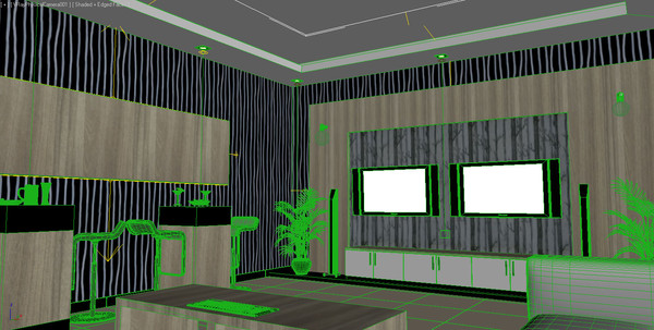 design karaoke room 3d model - karaoke room (KTV)... by Coreindesign