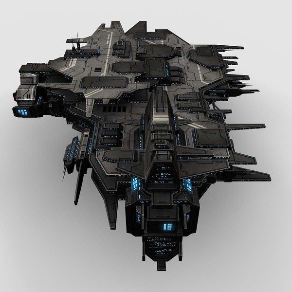 3d games real-time - Space_Station_Fighter_1... by Angryfly