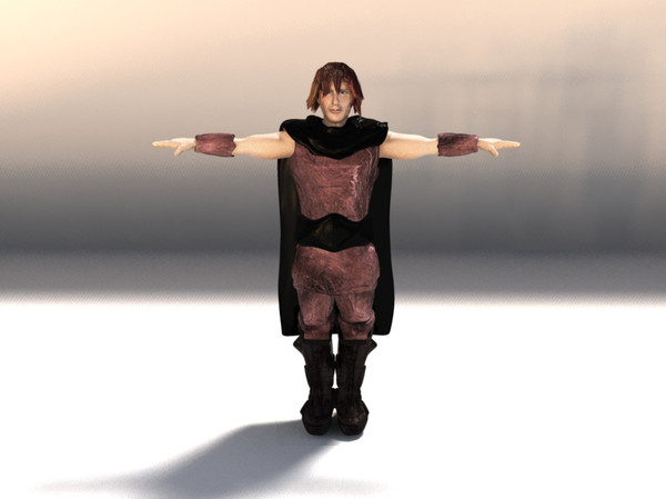 3d model fantasy character man - Man... by Digital Griffix Studios