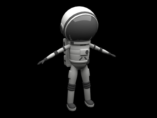 3d astronaut man model - Astronaut... by Rodrigues_DDD