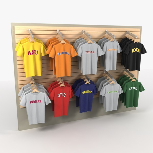obj t-shirt wall shirts - T-shirt Wall... by DigitalX
