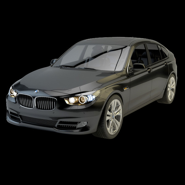 bmw gt 550 3d model - BMW GT 550... by HGT
