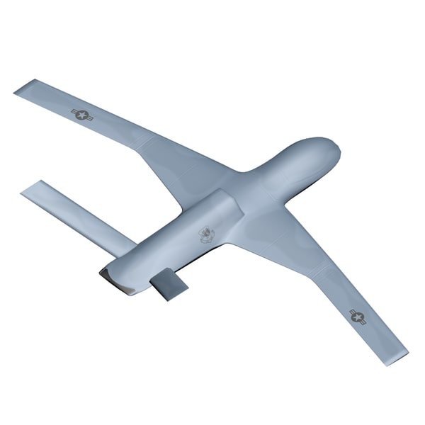 general atomics avenger predator 3d model - General Atomics Avenger Predator C Mid Poly... by dimosbarbos
