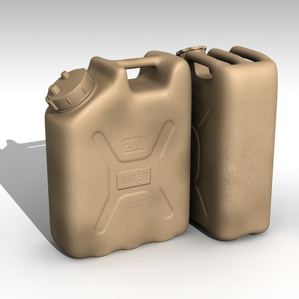 3d model jerry - Jerry Cans... by ne3w2