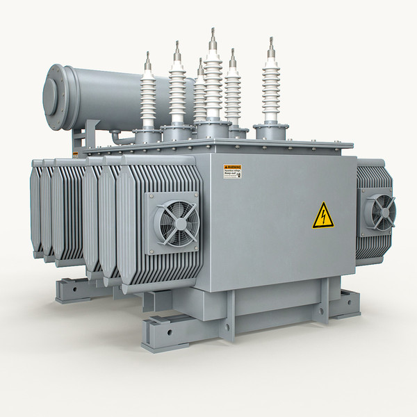 transformer power 3d model - Power Transformer(1)... by PlastyForma