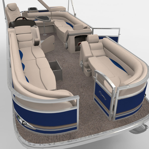 maya 2012 sun tracker party - Sun Tracker Party Barge  Pontoon Boat... by gauthier12