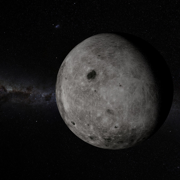 3d model of earth moon 10k - EARTH & MOON 10K... by NGC4051