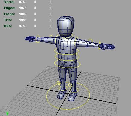 generic rigged ready animate 3d max - Generic Man Rigged and Ready to Animate in Maya and Max... by Melowilo
