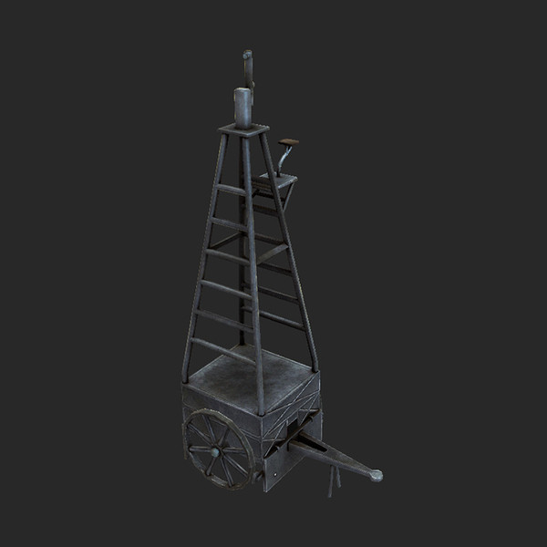observation vehicle 3d model - Observation Vehicle Low... by tuann123