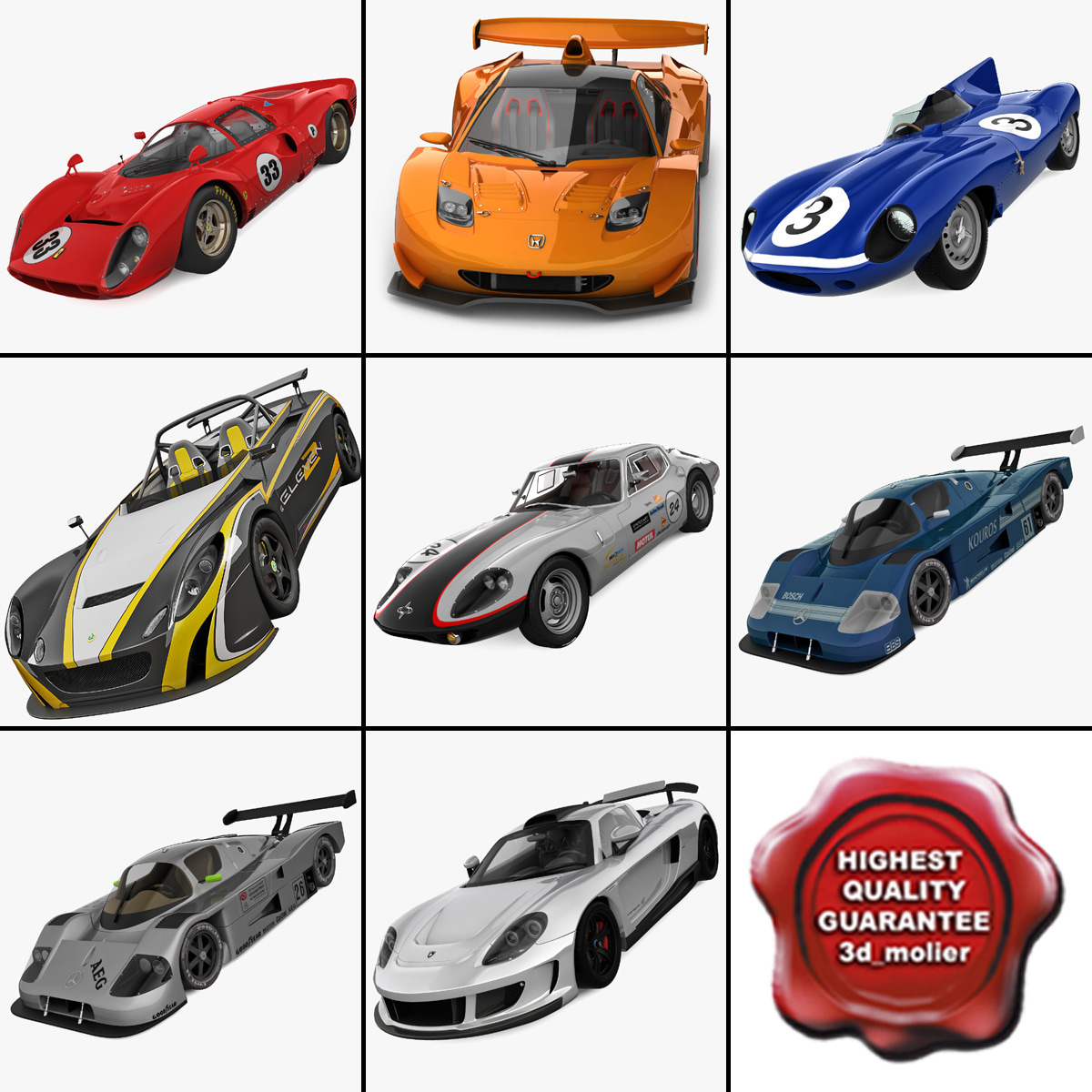 Racing Cars Collection 8