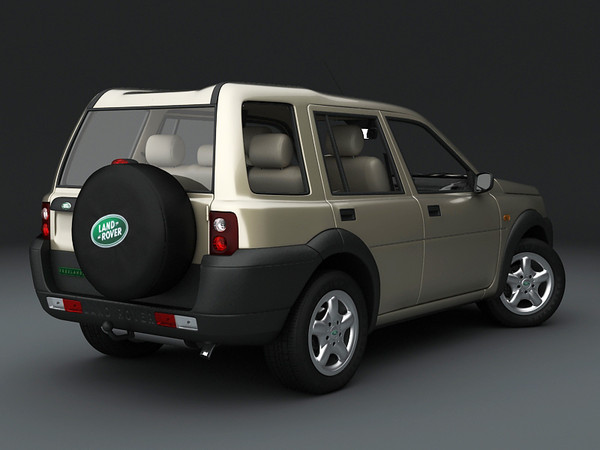 land rover freelander 1 3ds - Land Rover Freelander 1998... by 3DStarving