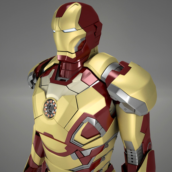 Ironman Mark VIII Texture Maps