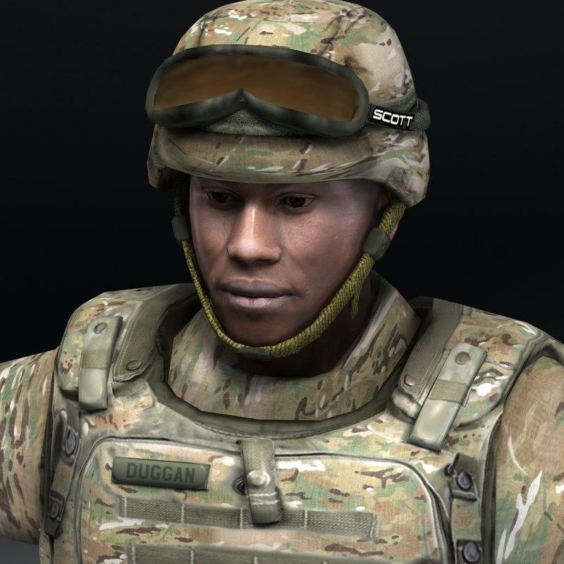 US Army MultiCam BDU