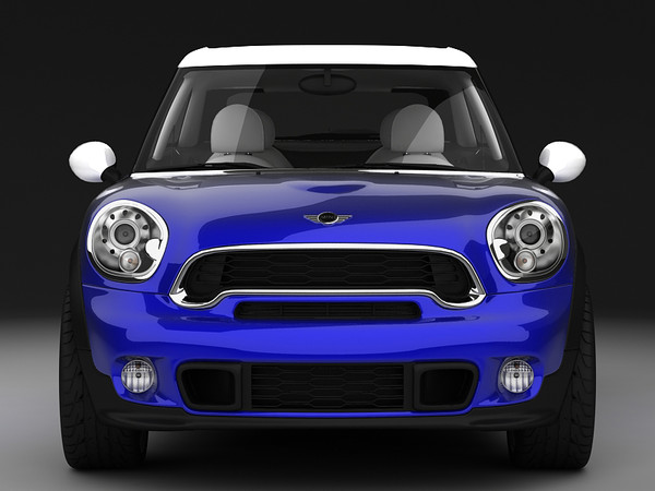max bmw mini paceman suv - Mini Paceman 2013... by 3DStarving