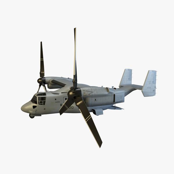 Military VTOL 3D models