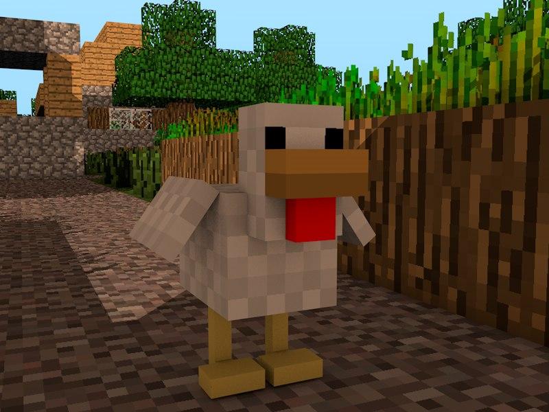 Minecraft Chicken Rig