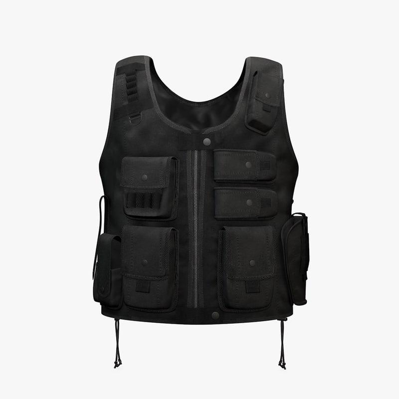 Tactical Entry Vest Black
