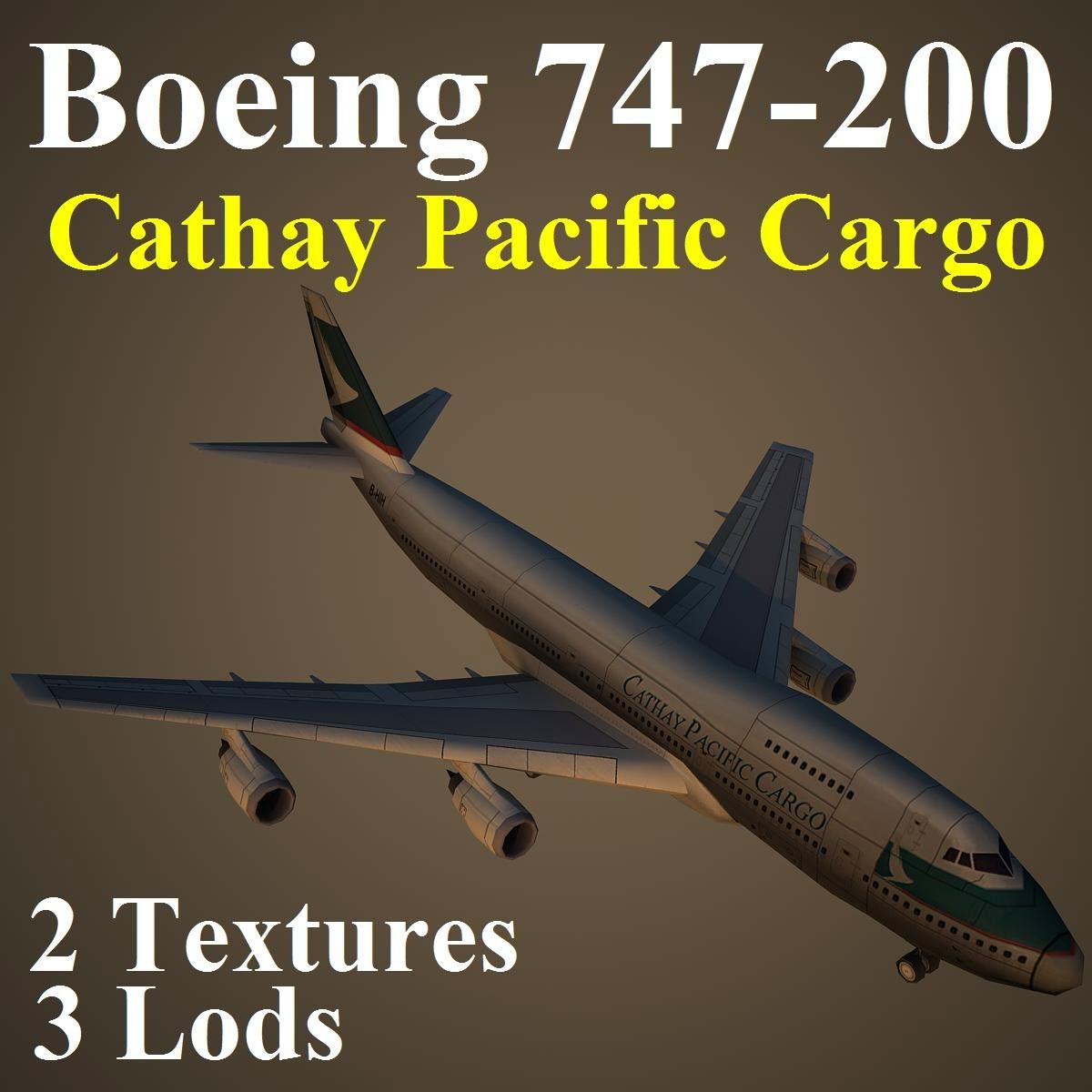 3d model boeing 747 200 cpa