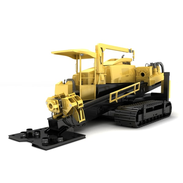 Directional Drilling Rig 3D Models