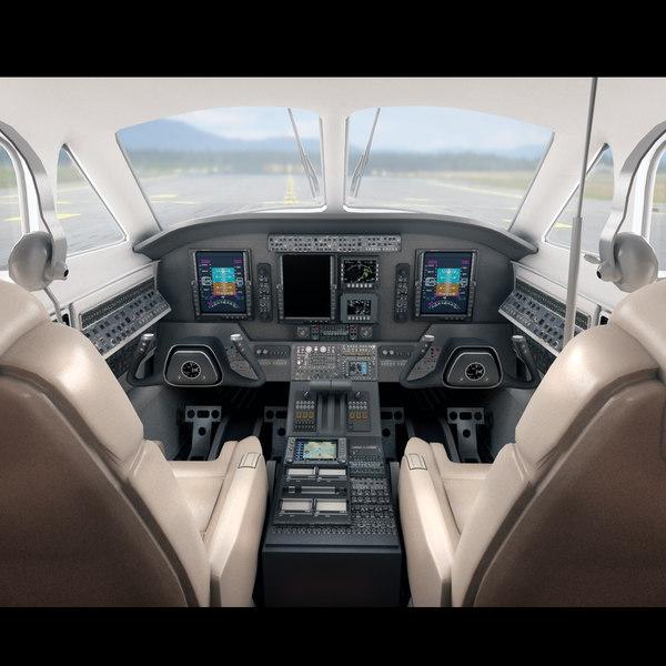 Airplane Interior 3D Models