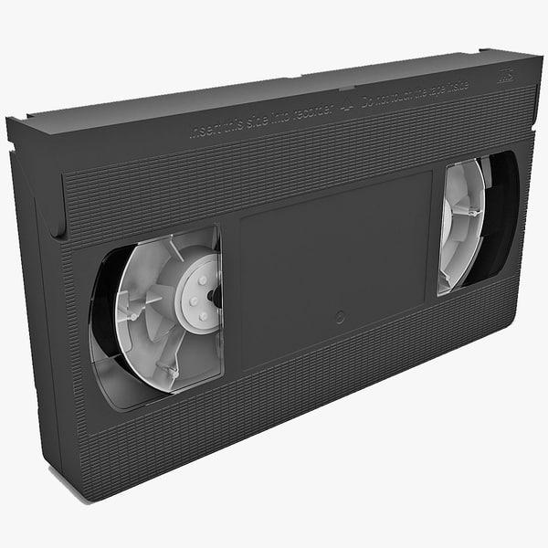 VHS 3D models