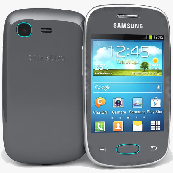 Samsung Galaxy Pocket Neo S5310 Gray 3D Models